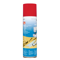 Temporary spray adhesive for textiles from Prym