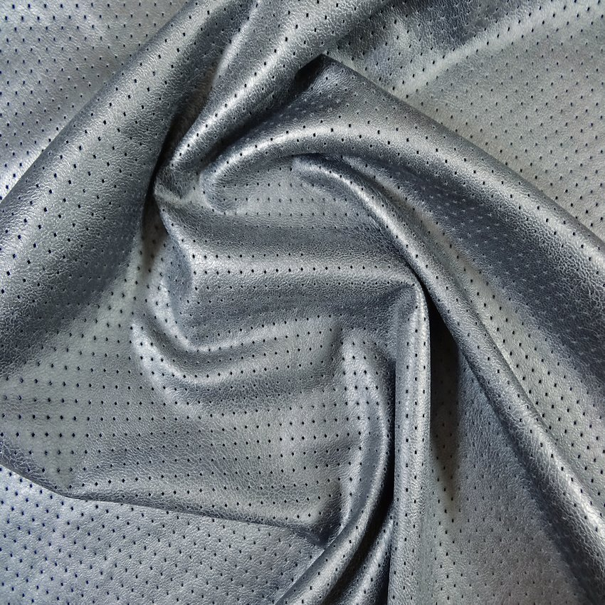Craftine tissu anthracite - Tissu simili cuir gris ...