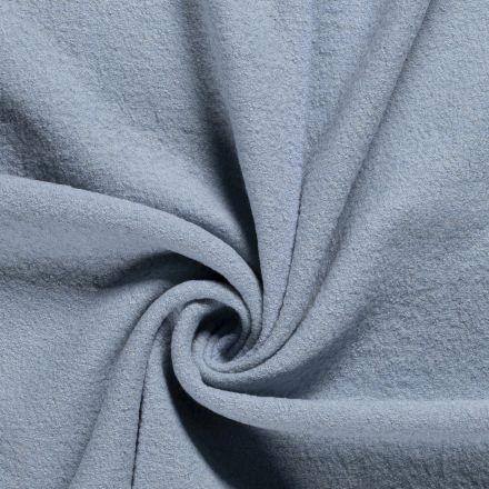 Laine bouillie 100% laine Bleu ciel - Par 10 cm
