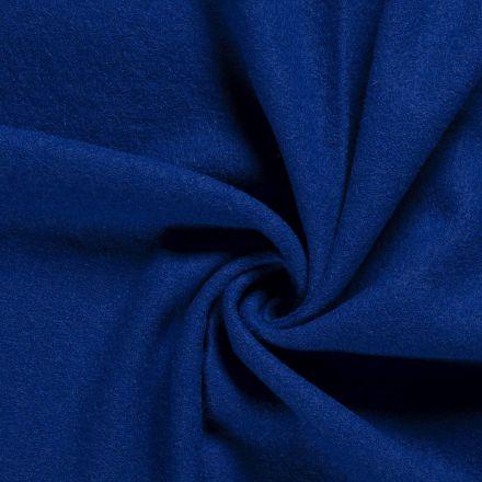 Laine bouillie 100% laine Bleu cobalt - Par 10 cm