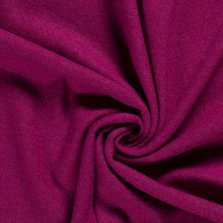 Laine bouillie 100% laine Rose fuchsia - Par 10 cm