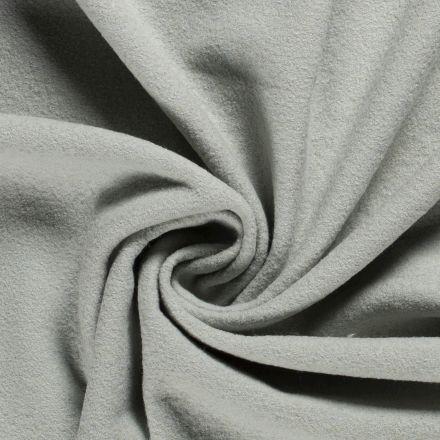 Laine bouillie 100% laine Vert menthe - Par 10 cm