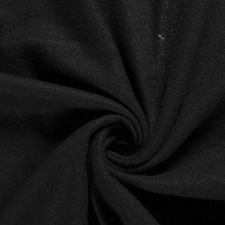 Laine bouillie 100% laine Noir - Par 10 cm