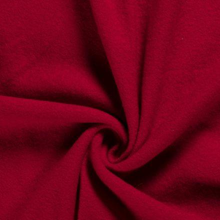 Laine bouillie 100% laine Rouge - Par 10 cm