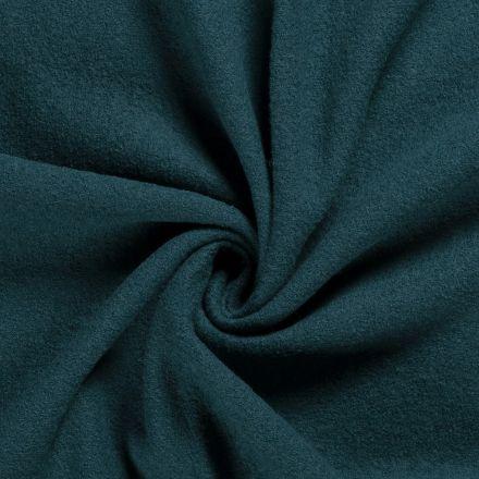 Laine bouillie 100% laine Bleu pétrole - Par 10 cm