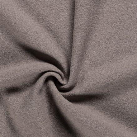 Laine bouillie 100% laine Taupe clair - Par 10 cm