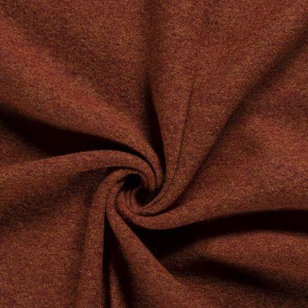Laine bouillie 100% laine Terracotta - Par 10 cm