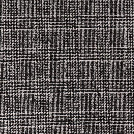 Tissu Drap de manteau Flanelle Carreaux Ecossais sur fond Blanc - Par 10 cm