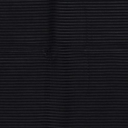 Tissu Néoprène côtelé Bleu marine - Par 10 cm
