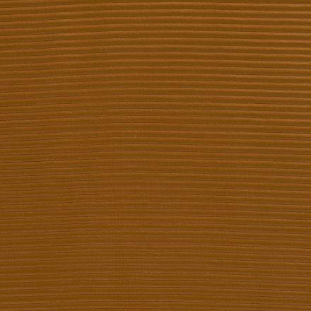 Tissu Néoprène côtelé Jaune moutarde - Par 10 cm