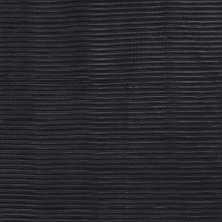 Tissu Néoprène côtelé Noir - Par 10 cm