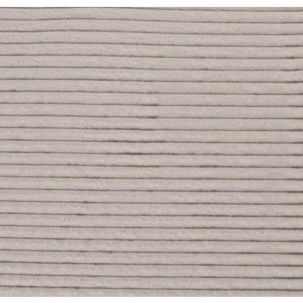 Tissu Minky à grosses côtes Ultra doux Ecru - Par 10 cm