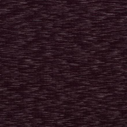 Tissu Sweat Matelassé  chiné sur fond Bordeaux - Par 10 cm