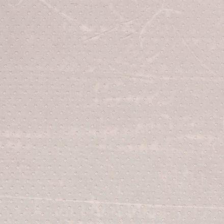 Tissu Tulle souple à pois Pois sur fond Gris clair - Par 10 cm