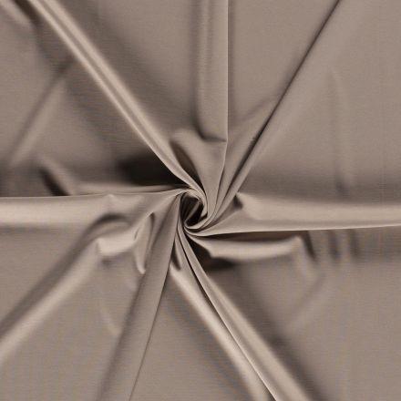 Tissu Jersey Viscose Nylon Taupe - Par 10 cm