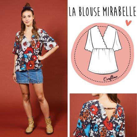 Patron Craftine Blouse Mirabelle