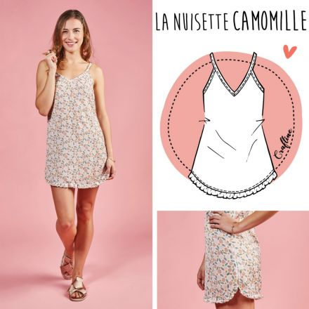 Patron Craftine Nuisette Camomille