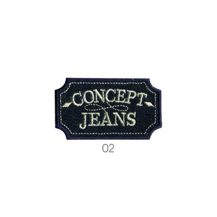 Ecusson Thermocollant Concept jean