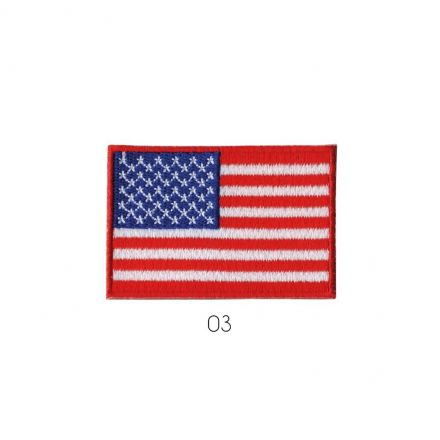 Ecusson Thermocollant drapeau américain