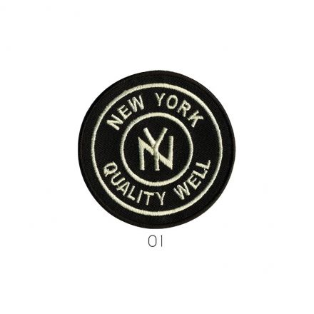 Ecusson Thermocollant New York Quality Well Noir
