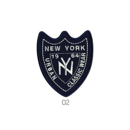 Ecusson Thermocollant New York Jean