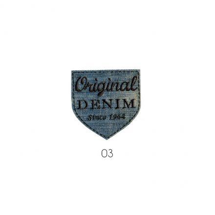 Ecusson Thermocollant Original Denim Jean Used