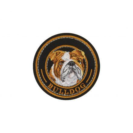 Ecusson Thermocollant Chien Bulldog