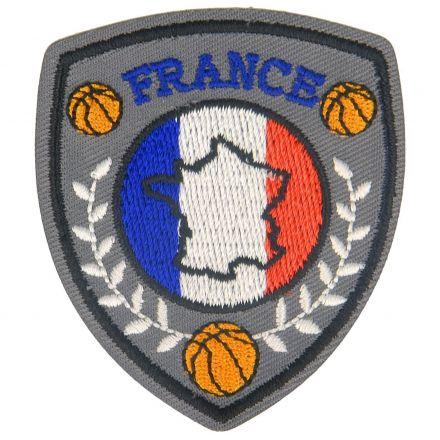 Ecusson Thermocollant Blasons Sport Basket et France