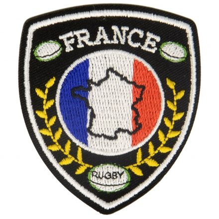 Ecusson Thermocollant Blasons Sport Rugby et France