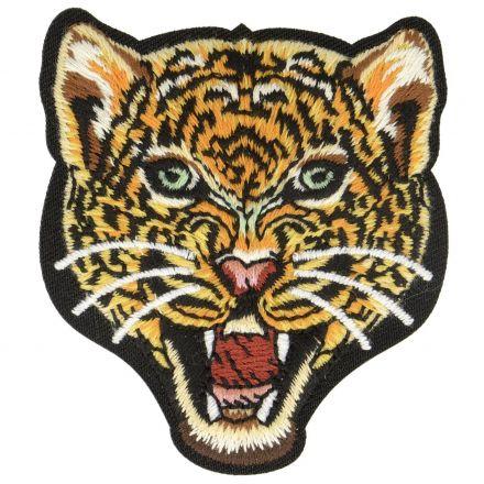 Ecusson Thermocollant Animaux Jungle Tigre Roux