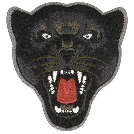 Ecusson Thermocollant Animaux Jungle Jaguard Noir