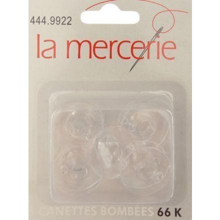 Canettes Plastiques Bombées 66K par 5