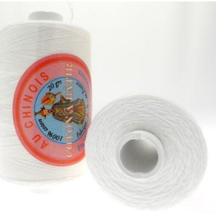 Coton à Bâtir Au Chinois 20 g - Blanc