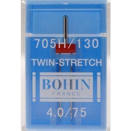 Aiguille Machine Twin-Stretch Etui de 1