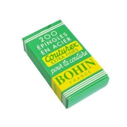 Épingles Bohin Acier Extra Fine x200