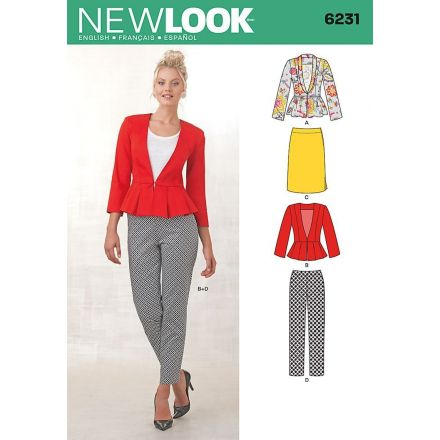 Patron New Look 6231 Ensemble