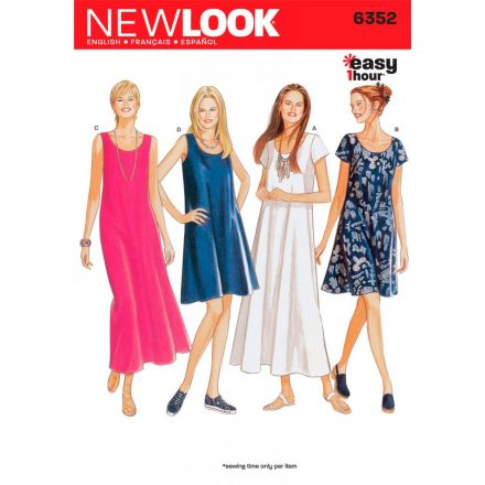 Patron New Look 6352 Robes