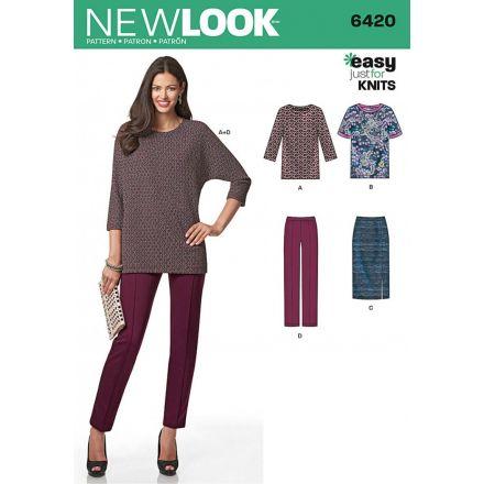 Patron New Look 6420 Ensemble Dame