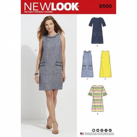 Patron New Look 6500 Robe Dames