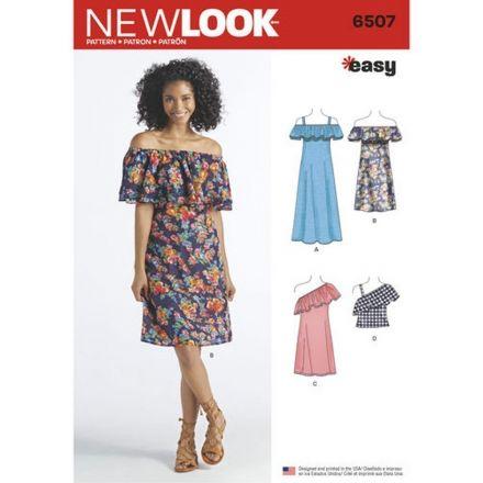 Patron New Look 6507 Robe
