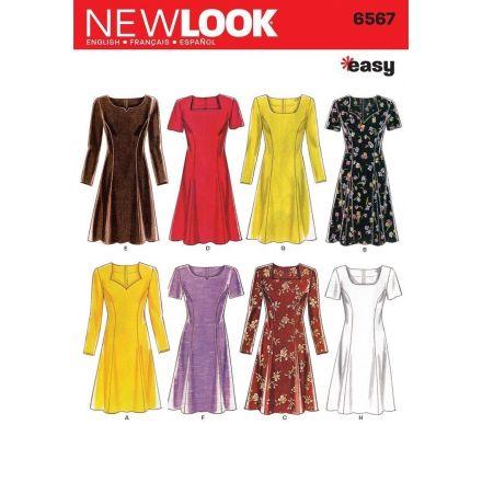 Patron New Look 6567 Robe