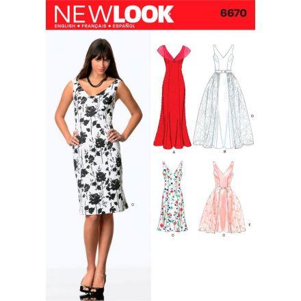 Patron New Look 6670 Robe