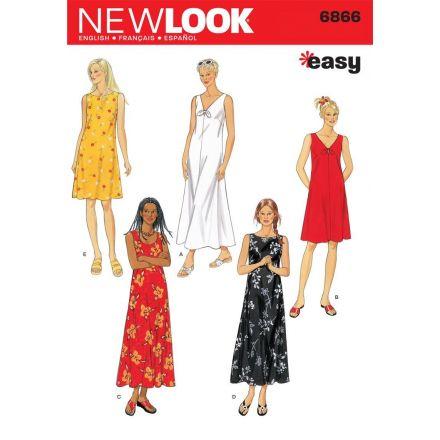 Patron New Look 6866 Robe