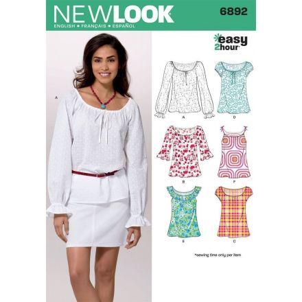 Patron New Look 6892 Tee-Shirt, Top
