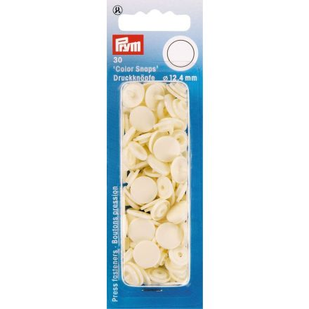 Prym 30 Boutons pression Color Snaps perle 12,4 mm