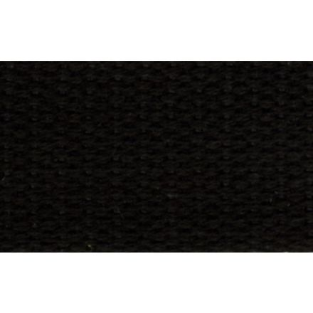 Sangle Coton 30 mm Noir x1m