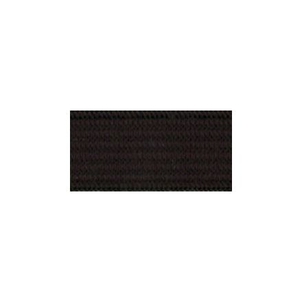 Elastique Plat Indémaillable 11 mm Noir x1m