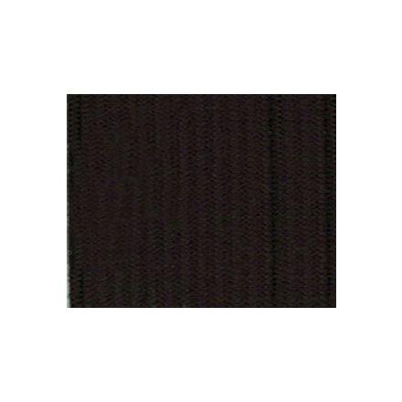 Elastique Plat Indémaillable 25 mm Noir x1m