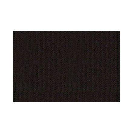 Elastique Plat Indémaillable 35 mm Noir x1m