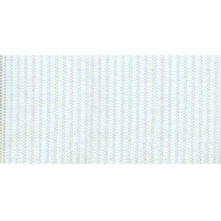 Elastique Plat Indémaillable 40 mm Blanc x1m